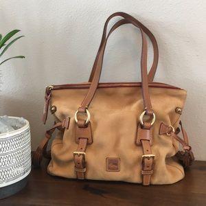 Dooney Bourke Florentine satchel in suede